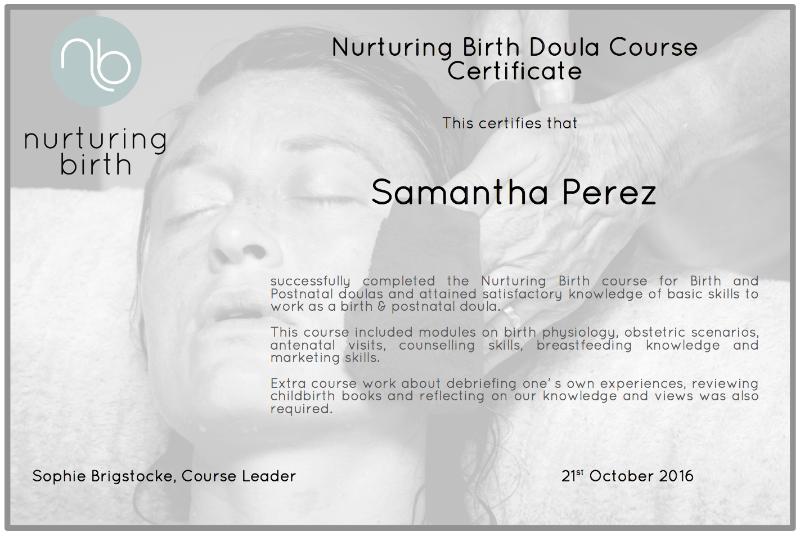 Nurturing-Birth-certificate