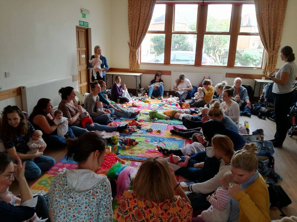 Setting up a postnatal group - Guest post by Sarah Ballard